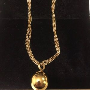 Monet Double Chained Long Necklace